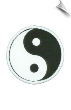 Yin Yang Patch - 5 Pack (SKU: 2210)