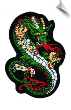 Green Dragon Patch - 5 Pack (SKU: 2217)