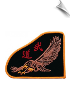 Eagle Deluxe Patch - 5 Pack (SKU: 2413)
