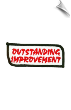 Outstanding Improvement Patch - 5 Pack (SKU: 2505)