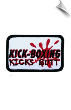 Kick-Boxing Kicks Butt Patch - 5 Pack (SKU: 2514)