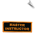 Master Instructor Patch - 5 Pack (SKU: 2518)