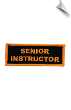 Senior Instructor Patch - 5 Pack (SKU: 2519)