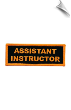 Assistant Instructor Patch - 5 Pack (SKU: 2520)