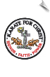 Karate for Christ Patch - 5 Pack (SKU: 2530)
