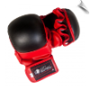 Artificial Leather MMA Training Gloves - Red/Black (SKU: 110-RB)