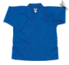 8.5 oz V-Neck Martial Arts Top - Blue (SKU: 202-BL)