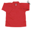 8.5 oz V-Neck Martial Arts Top - Red