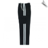 Martial Arts Cargo Pants - Black With White Stripes (SKU: 6201-BW)