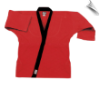 8.5 oz Super-Middleweight Karate Jacket - Red with Black (SKU: 6300-RB)