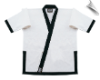 8.5 oz Super-Middleweight Karate Jacket - White with Black (SKU: 6400-WB)