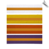 Colored Martial Arts Rank Belt with Gold Stripe